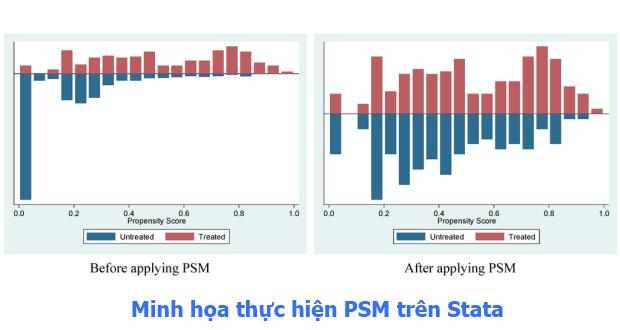 Minh họa thực hánh PSM trên Stata